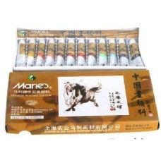 Marie's 12 Chinese Painting Color E1302
