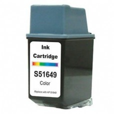 HP 49 51649A Remanufactured Color Ink Cartridge