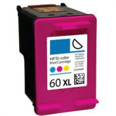 HP 60XL CC644WN Remanufactured Color Ink Cartridge High Yield
