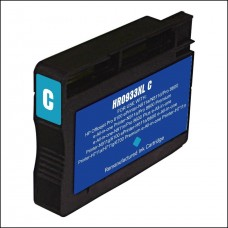 HP 933XL Remanufactured Cyan Ink Cartridge High Yield