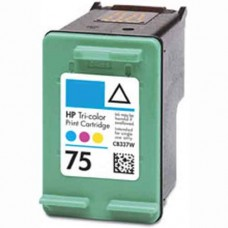HP 75 CB337WN Remanufactured Color Ink Cartridge