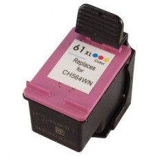 HP 61XL Remanufactured Tri-Color Ink Cartridge High Yield (CH564WN)