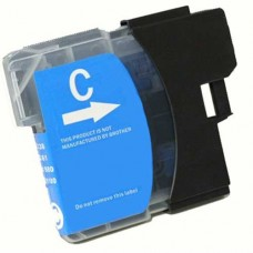 Brother LC61C Compatible Cyan Ink Cartridge High Yield