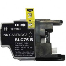 Brother LC75BK Compatible Black Ink Cartridge High Yield,compatible for LC71BK