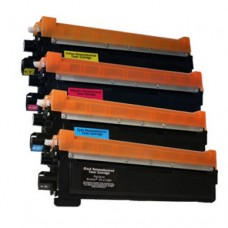 Brother TN-210BK/C/M/Y Compatible Toner Cartridge Combo Pack