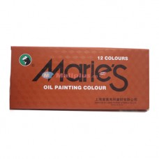 Marie's12 Oil Colour Set E1381
