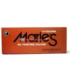 Marie's18 Oil Colour Set E1382