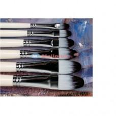 Round Headed Nylon Acrylic Painting Brush