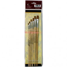 Oil Painting Brush Bleached Bristle G1716A