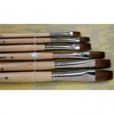 Oil Painting Brush Bleached Bristle G1716B