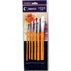 Gouache Brush 6pieces Set G1806A