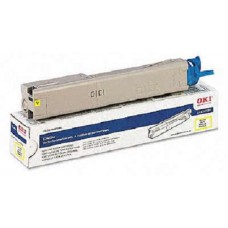 Okidata 43459301 OEM Yellow Toner Cartridge High Yield