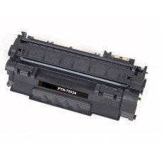 HP 53A Q7553A Remanufactured Black Toner Cartridge