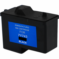 Dell 7Y743 Remanufactured Black Ink Cartridge (X0502)
