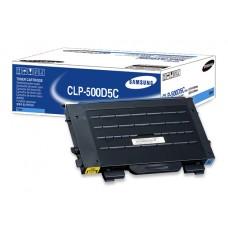 Samsung CLP-500D5C OEM Cyan Toner Cartridge