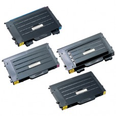 Samsung CLP-510D Remanufactured Black Toner Cartridge Combo Pack