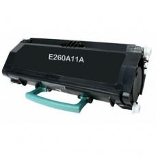 Lexmark E260A11A Remanufactured Black Toner Cartridge