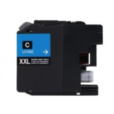 Brother LC105C New Compatible Cyan Ink Cartridge Super High Yield