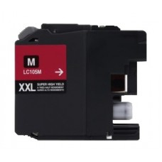 Brother LC105M New Compatible Magenta Ink Cartridge Super High Yield
