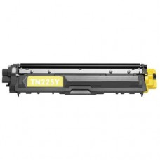 Brother TN-225Y New Compatible Yellow Toner Cartridge (High Yield)
