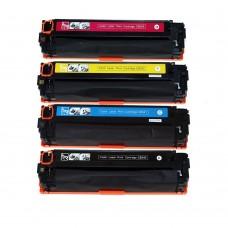 HP 131A 131X CF210X/211A/212A/213A Compatible Toner Cartridge Combo Set