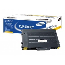 Samsung CLP-500D5Y OEM Yellow Toner Cartridge